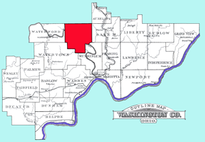 Adams Township Map